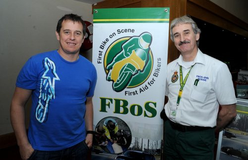 Rodge had the pleasure of meeting TT Legend John McGuinness!