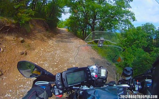 Pyrenees tracks and trails are serious fun..
