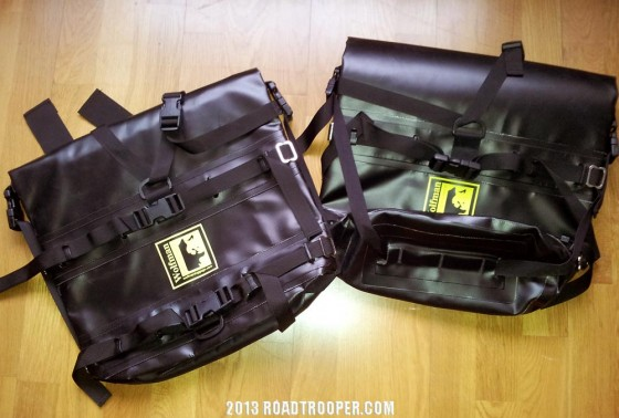 New edition to my touring kit – Wolfman Expedition Dry Panniers