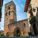 The 12th-century Iglesia parroquial de Santa María