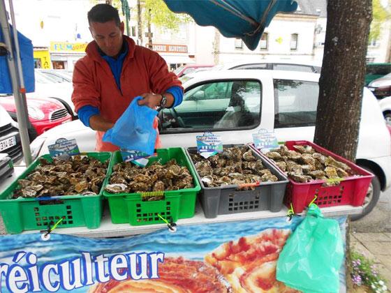 Market in Pluvigner
