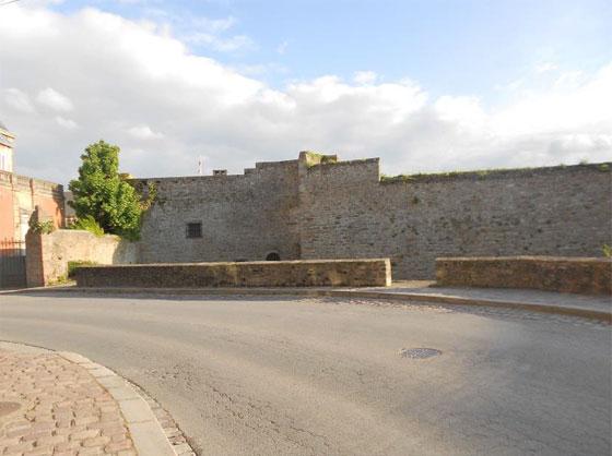 Castle Walls Dinan