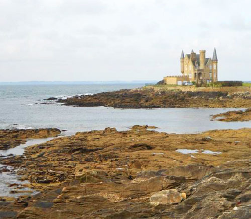 Chateau on sea