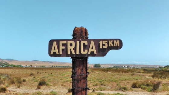 African Motorcycle Diaries - Africa 15km