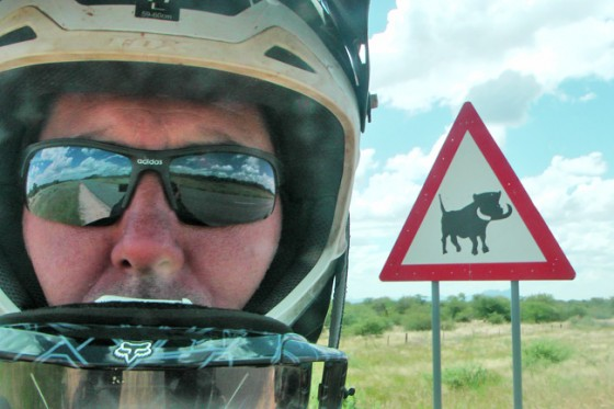 African Motorcycle Diaries - Animal Territory