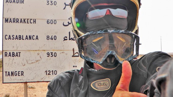 African Motorcycle Diaries - Morocco Only 1,210 Km to Go